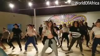 Wakanda Dance 🙅🏿♂️ @tangoleadaz #BlackPanther