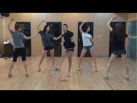 EXID - I Feel Good mirrored Dance Practice