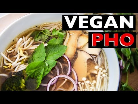 EASY VEGAN PHO RECIPE | How to make Vietnamese PHO CHAY