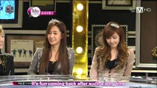 [111215] SNSD at the Beatles Code Part 4 of 4 [Eng Subs]