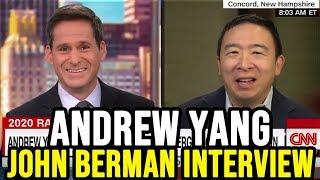 Andrew Yang on CNN New Day w/ John Berman   Full Interview November 8th 2019