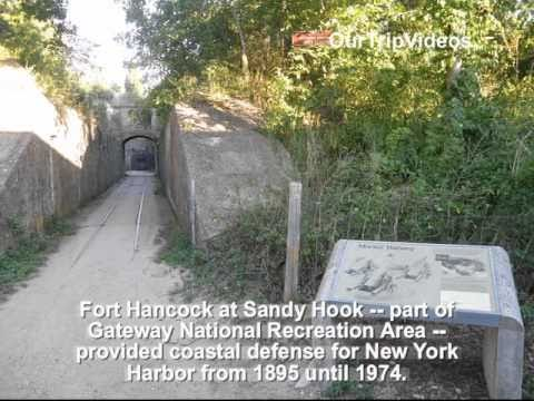 Pictures of Sandy Hook Lighthouse and Fort Hancock, Middletown, NJ, US