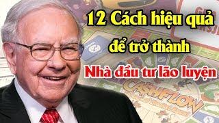 12 Cách hiệu quả để trở thành nhà đầu tư lão luyện bậc thầy   Tài chính 24H