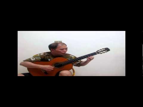 Mr.Chen 細雪 雪が降る日本曲 吉他演奏 classcial guitar
