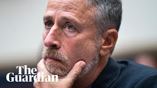 Jon Stewart's emotional testimony to Congress over inaction for 9/11 responders