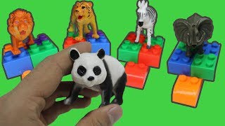 Learn WILD Animals names for Kids  | Animals Farm toys learn Educational video for kids