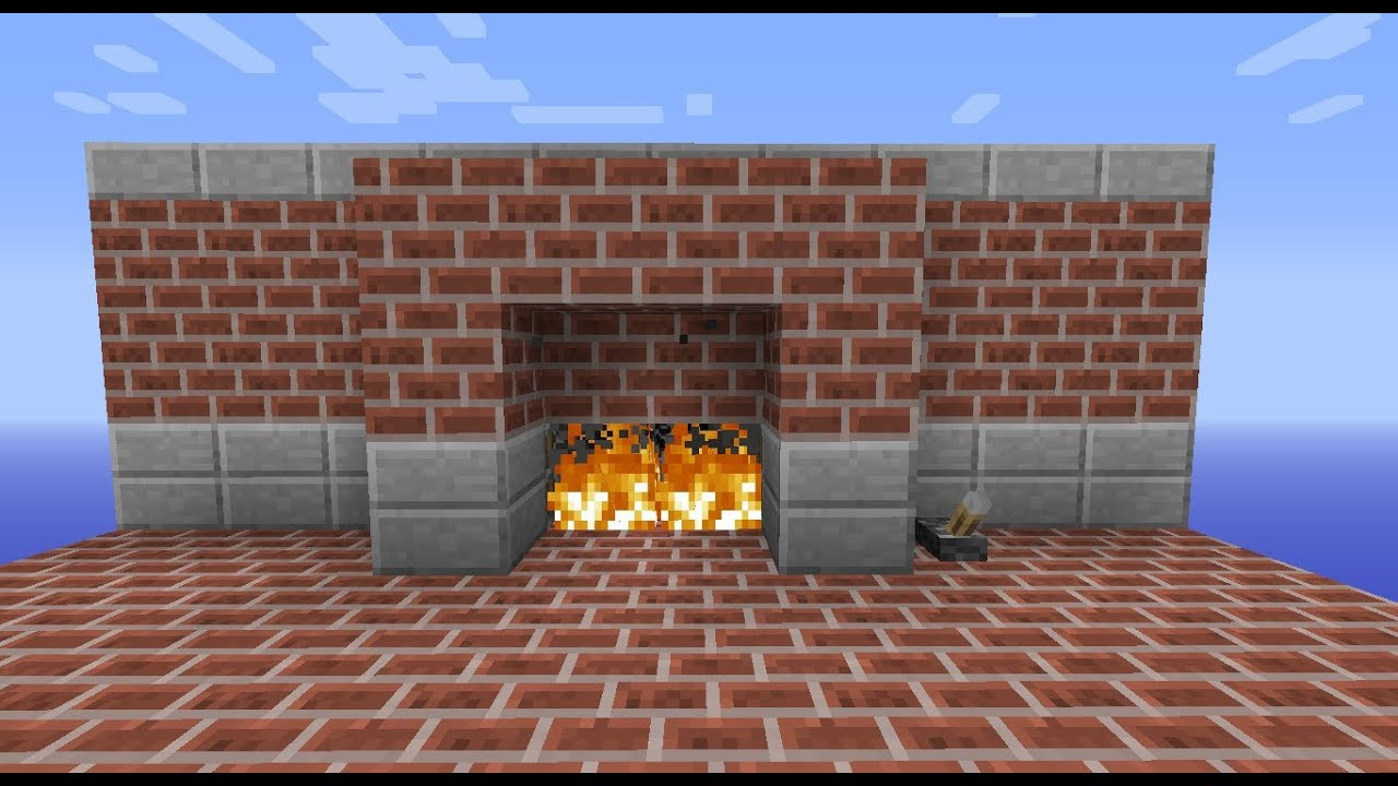 Fireplace Minecraft Pictures
