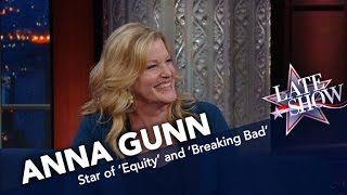 Anna Gunn Wants Nothing To Do With High Heels