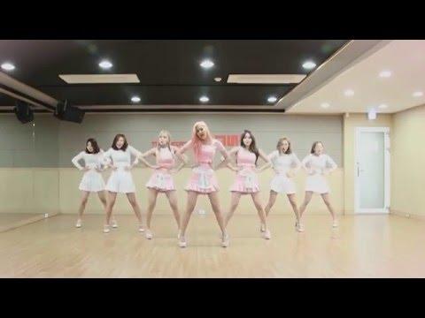 AOA 크림 (CREAM) - 질투 나요 BABY Dance Practice (Mirrored)