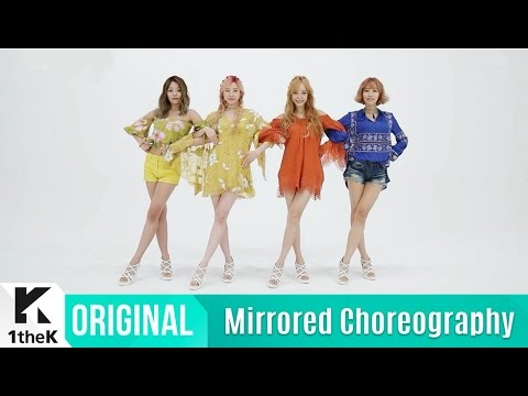 [Mirrored] MELODYDAY(멜로디데이)_Color Choreography(깔로 거울모드 안무영상)_1theK Dance Cover Contest