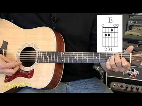 how to play basic major chords on a guitar for dummies youtube. Black Bedroom Furniture Sets. Home Design Ideas