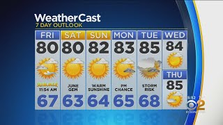 New York Weather: CBS2 6/20 Evening Forecast at 5PM