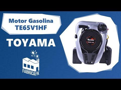 Motor Gasolina 6,5Hp 4T para Rabeta Vertical Te65V1Hf Toyama - Vídeo explicativo