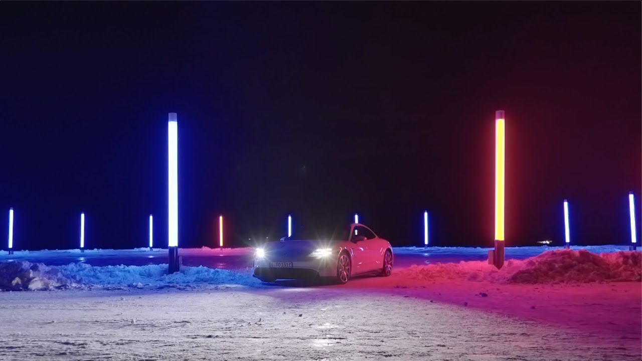 Porsche Ice Experience - Light Drift
