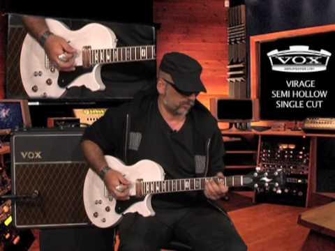 Judge Fredd & la guitare Vox Virage (La Boite Noire)
