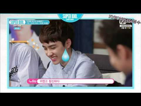 [ENG SUB] 140919 Super Idol Chart Show EXO D.O. King of Shoulder