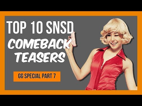 Top 10 SNSD Comeback Teasers