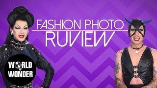 FASHION PHOTO RUVIEW: Season 7 Queens with Violet Chachki & Katya!