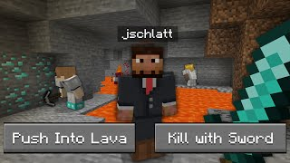 Beating Minecraft BUT, YOU decide what happens