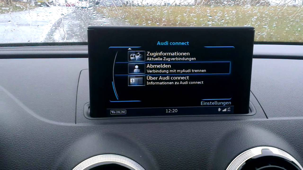 audi a3 sportback mmi navigation plus mit mmi touch. Black Bedroom Furniture Sets. Home Design Ideas
