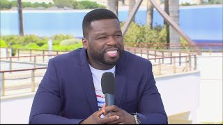 Rapper 50 Cent on his hit TV series 'Power'