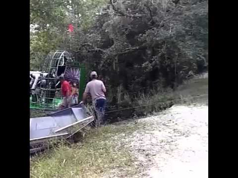 #2 of Airboat pulling Airboat