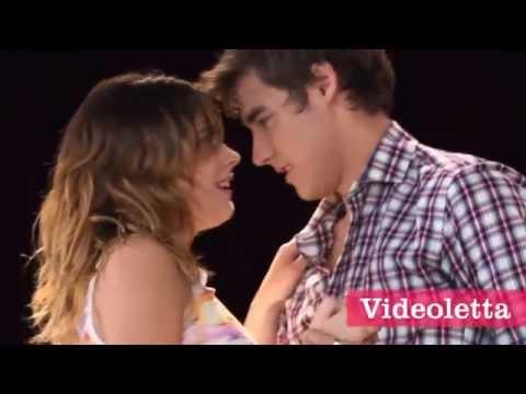 Violetta 2 English - Vilu and Leon dancing Ep.70