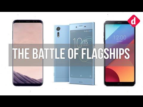 Samsung Galaxy S8 Vs Sony Xperia XZs Vs LG G6 The Battle Of Flagships  Digitin