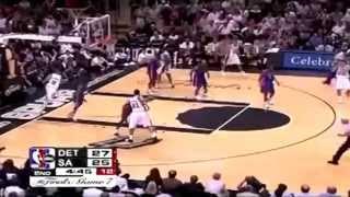 2005 NBA Finals - Detroit vs San Antonio - Game 7 Best Plays