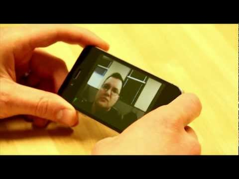 Polycom RealPresence Mobile App for iPhone 4S demo