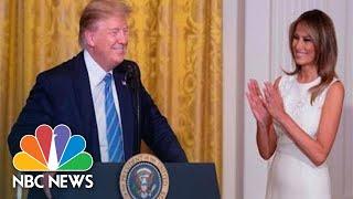 Trump hosts White House Historical Association dinner