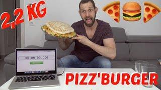 LA PIZZ'BURGER (2,2KG)