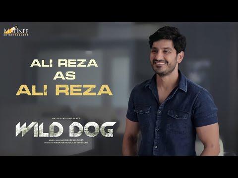 Ali Reza as ALI REZA - Wild Dog film promo- Nagarjuna