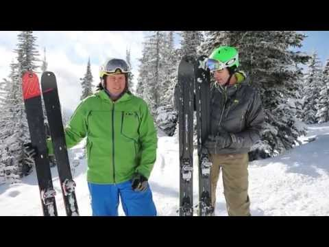 2015 Fat / Powder / Fun Ski Test - Catskiing.ca - Freshair.ca - Big White