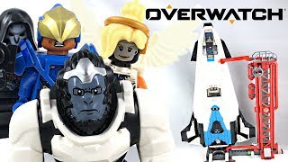 LEGO Overwatch Watchpoint Gibraltar review! 2019 set 75975!