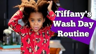 Tiffany's Natural Hair Routine For Kids | Simply Sims