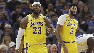 Anthony Davis Injury! LeBron & AD Combine for 12! NBA 2019 Preseason