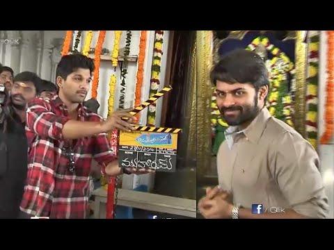 Subramanyam-For-Sale-Movie-Opening---Sai-Dharam-Tej--Regina--Allu-Arjun