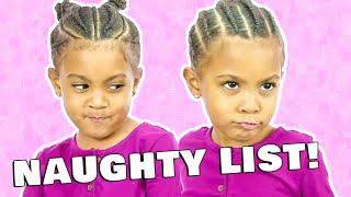 YOU'RE ON THE NAUGHTY LIST! TWIN TALK