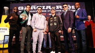 Garcia vs. Rios: Press Conference | SHOWTIME CHAMPIONSHIP BOXING