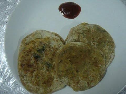 Aaloo Paratha/ Potato stuffed flat bread