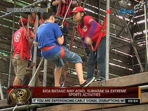 24 Oras: Mga Batang May ADHD, Sumabak Sa Extreme Sports Activities - Smashpipe News Video