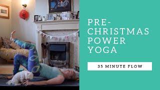 30 MINUTE YOGA FLOW | Christmas Power Yoga | ENLIVENING ELLE
