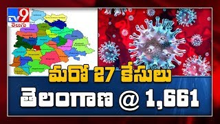 Corona Update: 27 new positive cases reported in Telangana..