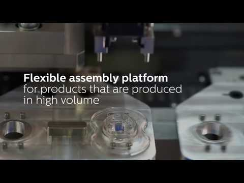 High volume flexible automation platform | Philips Innovation Services