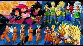DBZBT3 - Mega Pack de Goku |MODS|