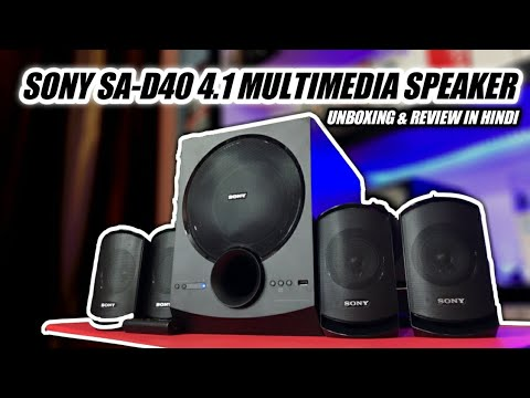 video Sony SA-D40 80 W Bluetooth Home Theatre Review<span class=