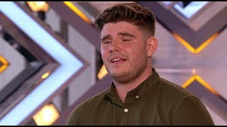 Lloyd Macey: Welsh Boy Delivers a TOUCHING Audition for his NAN | The X Factor UK 2017