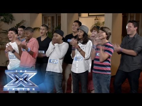 The Top 10 Boys Are Riding With Paulina! - THE X FACTOR USA 2013 - Smashpipe Entertainment