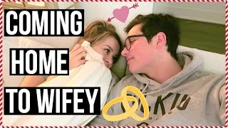 Coming Home To Wifey! Vlogmas Day 6!